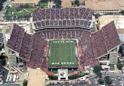 Sports News 20 Biggest American Football Stadiums Kyle Field Texas A M Texas Aggies
