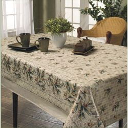 This Beautiful Tablecloth Features A Vivid Tuscan Mosaic Print That Will  Bring A Touch Of Elegance