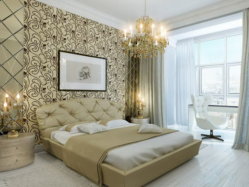 Marvelous The Name Of This Photo Is Master Bedroom Wallpaper Ideas. It Is .