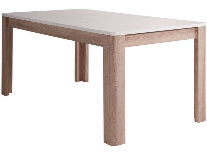 Table Rectangulaire Levi Vente De Table De Cuisine Conforama