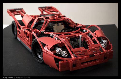 LEGO Porsche 917K by mingthein | Lego | Pinterest | Lego, Lego ...