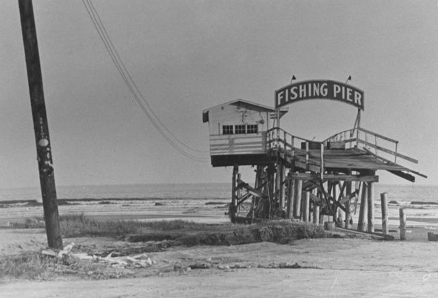 The Remains Of A Fishing Pier At Windy Hill Beach In South Carolina After Hurricane Hazel 1954 Credit News Observer