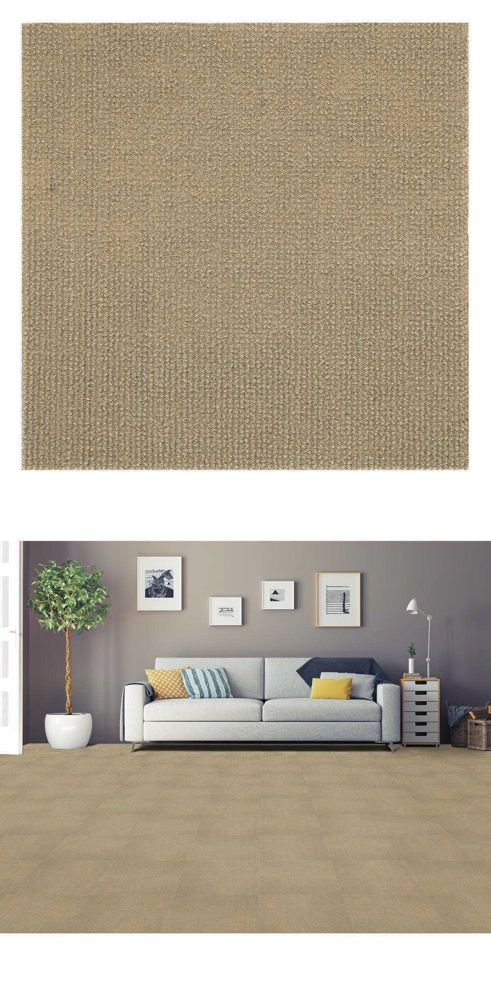 Carpet Tiles 136820 Nexus Tan 12 In X 12 In Peel And Stick