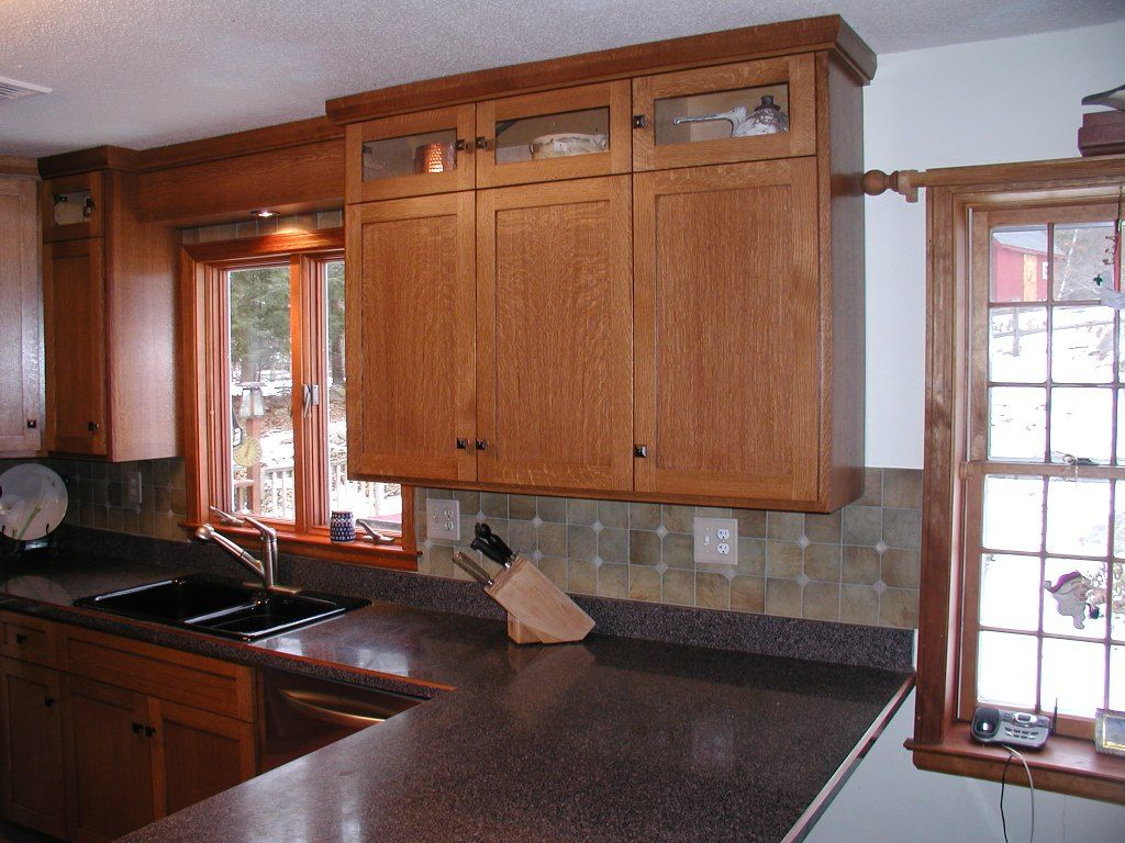 Kitchen Design Above Cabinets Adding Cabinets Above Kitchen Add Crown Molding Just Girl