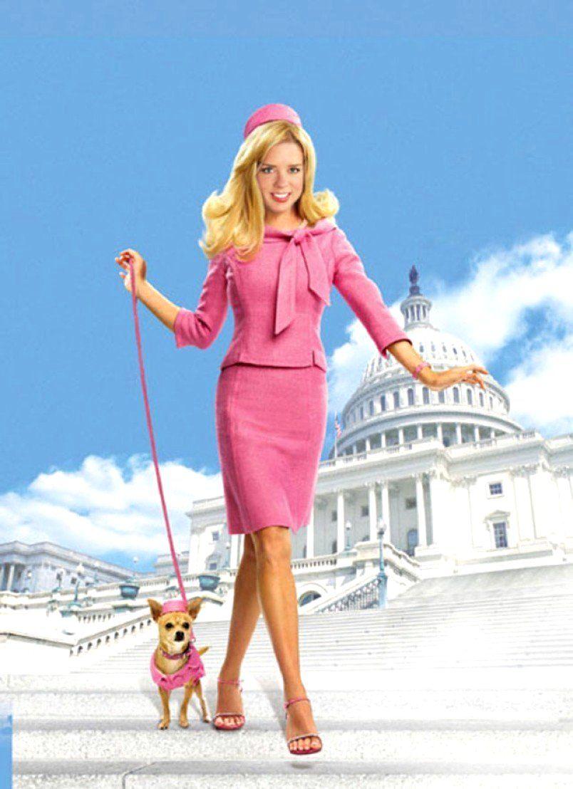 Florida Attorney General Pam Bondi In 2020 Legally Blonde Pink Suit Star Fashion
