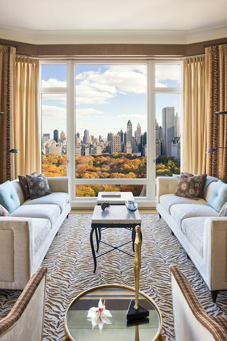 Nyc Apartment View Of Central Park Dream Luxury