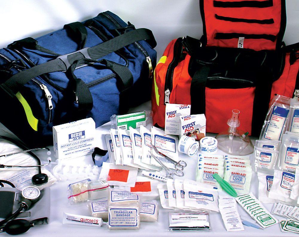 First Responder Paramedic Trauma Emergency Medical Kit Fully Stocked New Bag Dixie