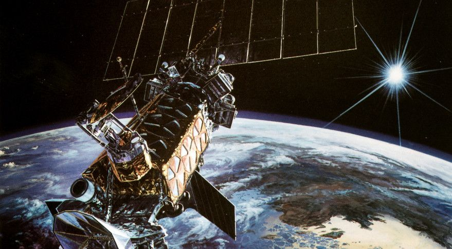 A 20 year old military weather satellite apparently exploded in a 20 year old military weather satellite apparently exploded in orbit feb 3 following what the us air force described as a sudden temperature spike freerunsca Images