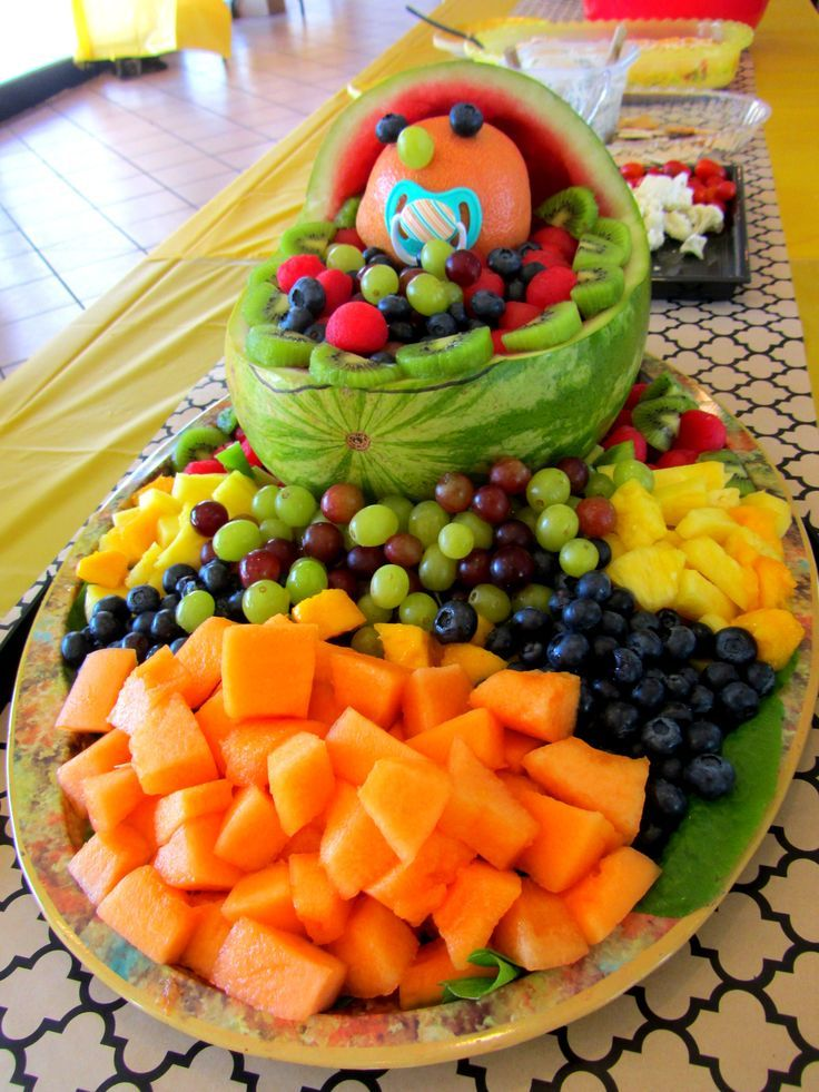 Fruit Platter Ideas For Parties Fruit Platter Baby Shower