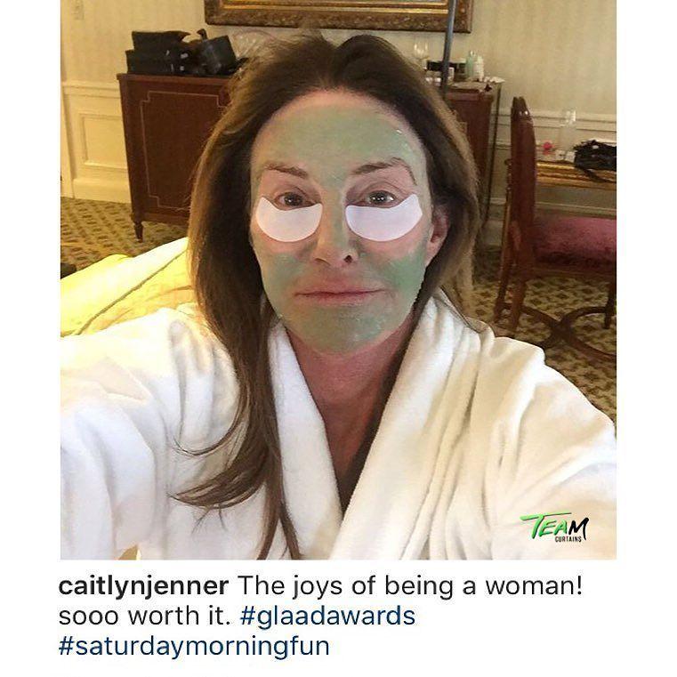 "Dash Daddy #CaitlynJenner enjoys the ""joys of being a woman!"""