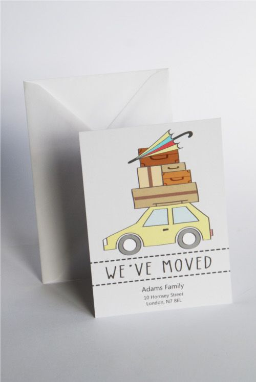 change of address postcard template
