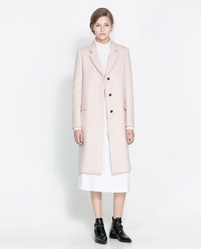 Cheap But Chic Rose Manteau Zara qEaIt