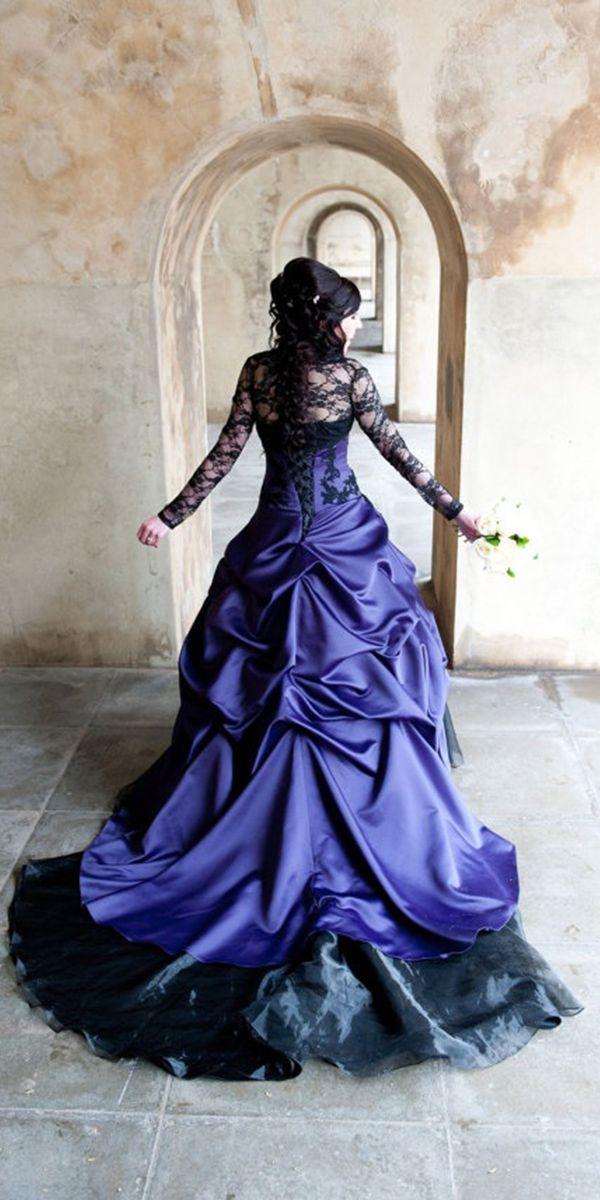 21 Gothic Wedding Dresses: Challenging Traditions | Ropa y Vestiditos
