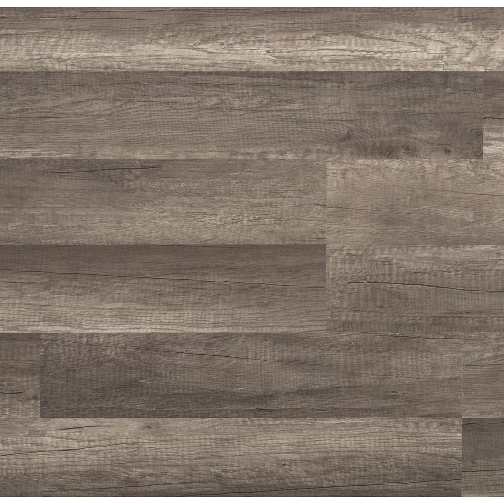 TrafficMASTER Grey Oak 7 mm Thick x 8.03 in. Wide x 47.64