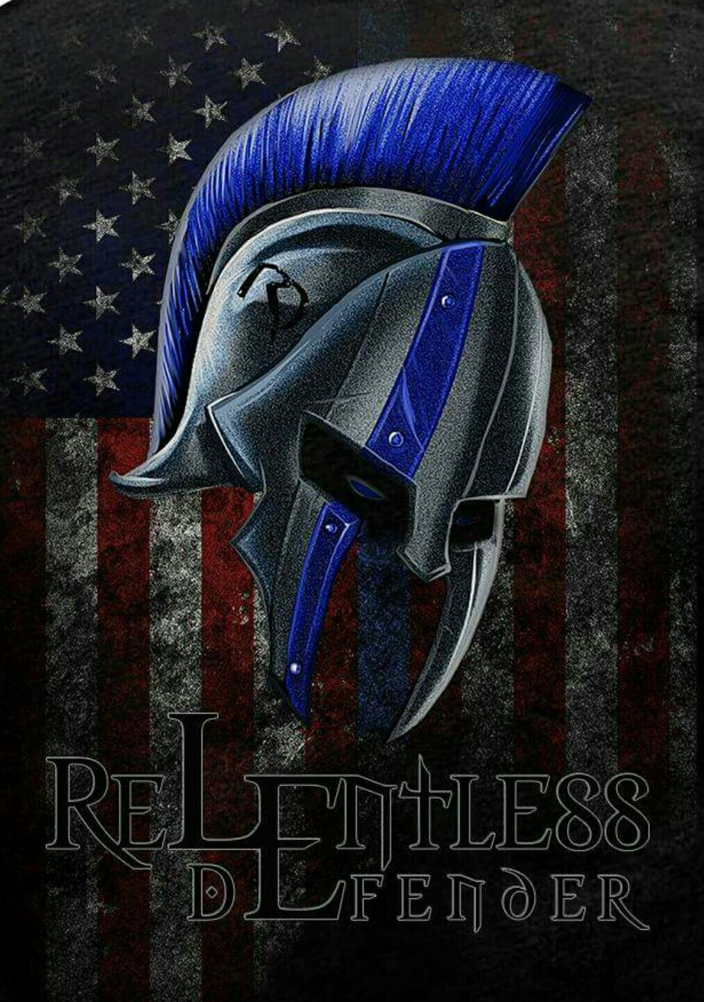 Pin By James On Cop Life Police Tattoo Thin Blue Line Decal Spartan Tattoo