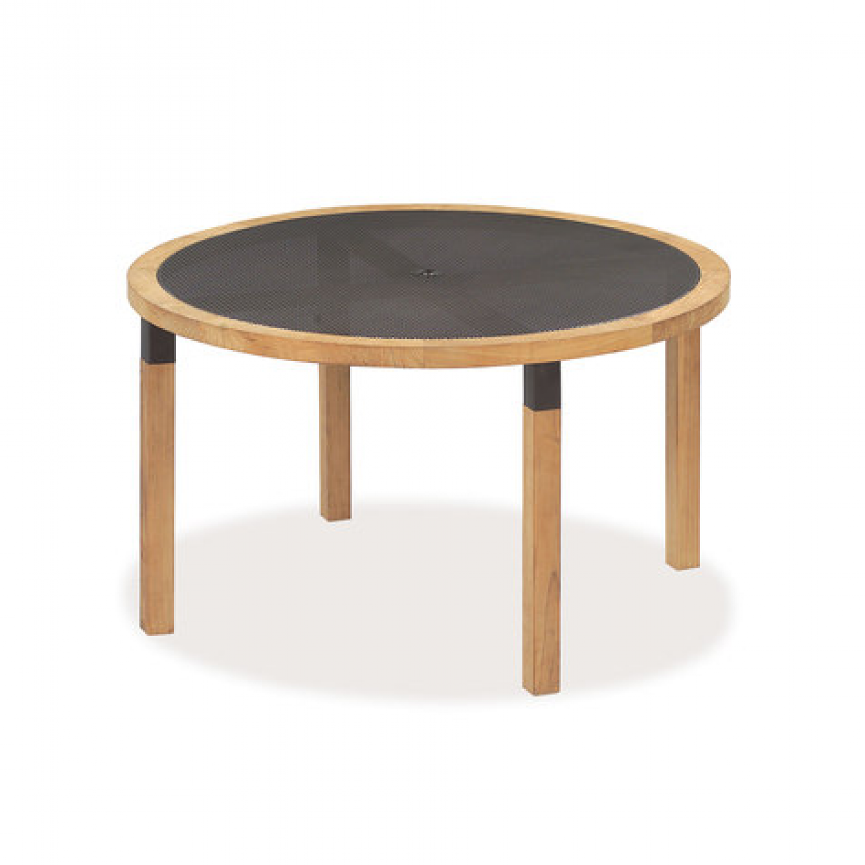 cetra table ronde teck - emu® | mobilier extérieur | pinterest | emu