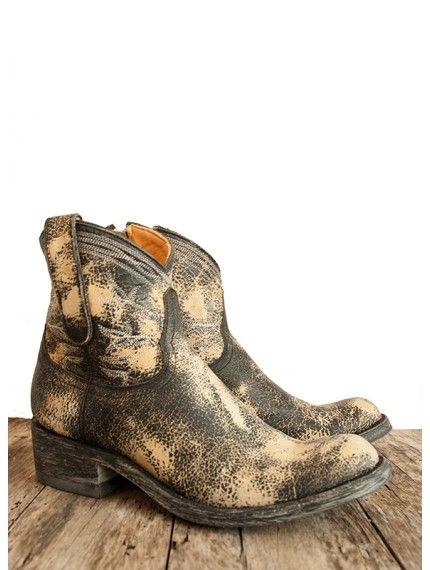 Mexicana Polozipper Short Boots