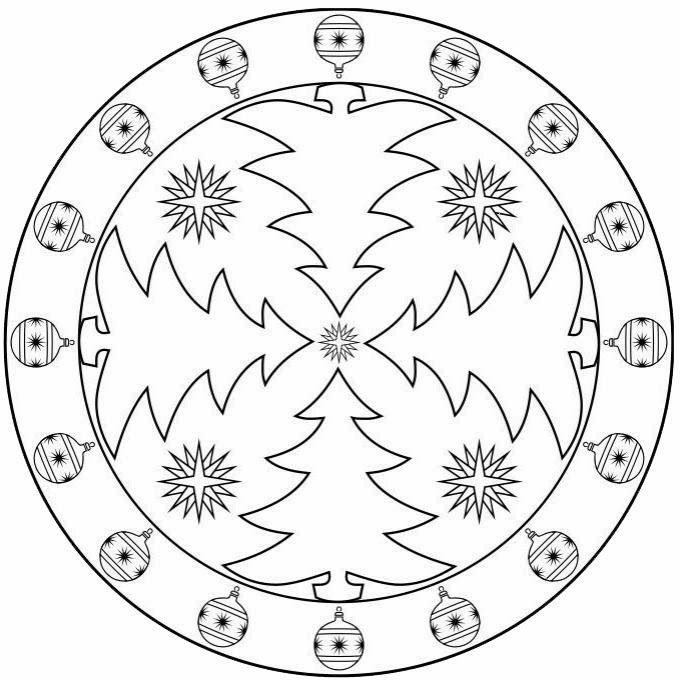 Crafts Actvities And Worksheets For Preschool Toddler And Kindergarten Christmas Mandala Mandala Coloring Mandala Coloring Pages