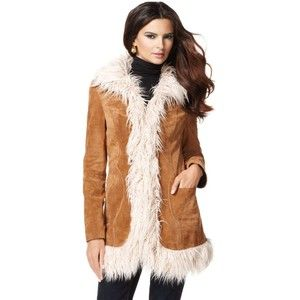 Inc International Concepts Coat, Faux Fur Trim Vintage Inspired ...