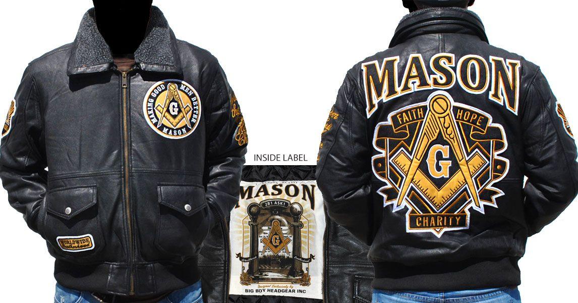 Mason Leather Jacket   Fraternal   Jackets, Bomber jacket