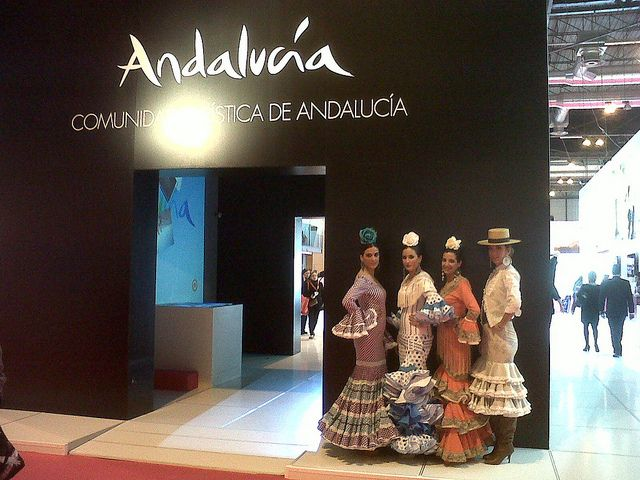 Andalucía y el flamenco, siempre unidos de la mano! Sin duda, un gran reclamo turístico.