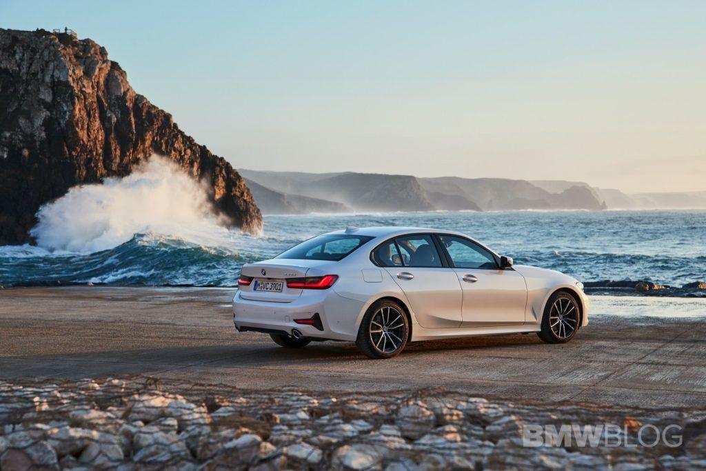 Photo Gallery 2019 BMW 320d G20 in Alpine White New bmw