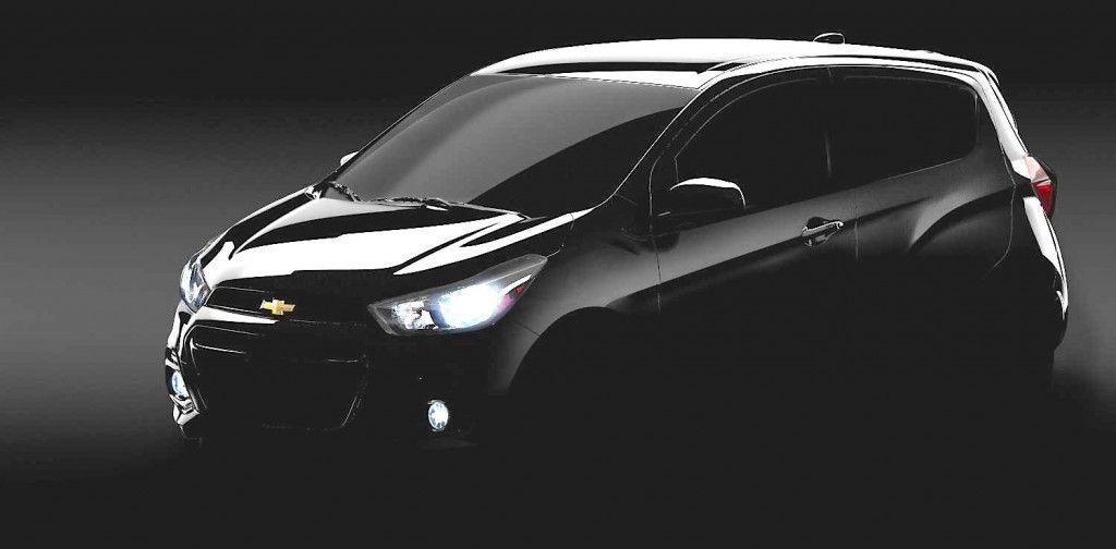 2016 Chevrolet Spark Teased Ahead Of Global Reveal Con Imagenes Chevrolet Spark Fotos De Autos Autos Nuevos