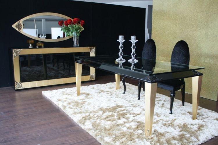 Wandspiegel im Barock \u2013 Stil ausdrucksstarke Dekoration Möbel - designer heizkorper minimalistischem look