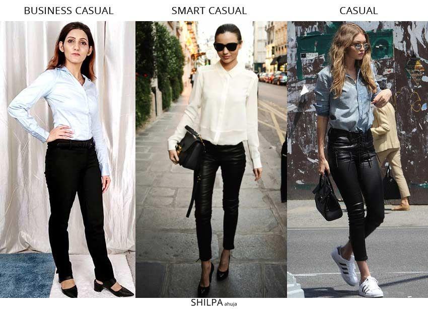 Smart dress, Smart casual dress code