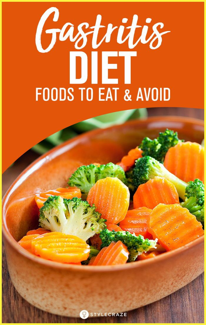 A Gastritis Diet Menu Plan Foods To Eat And Avoid Gastritis Diet Gerd Diet Recipes Bland Diet Recipes