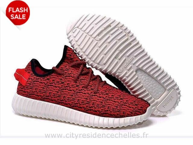 Adidas Yeezy Boost 350 Faible Rouge