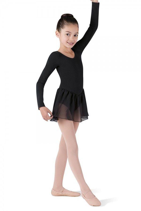 a7024920387a Petal Long Sleeve Leotard Tutu Dress CL5309 by Bloch