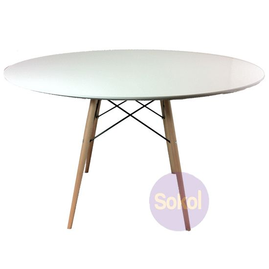 Replica Eames Eiffel Wood Leg Table 120cm Dining Table Wood