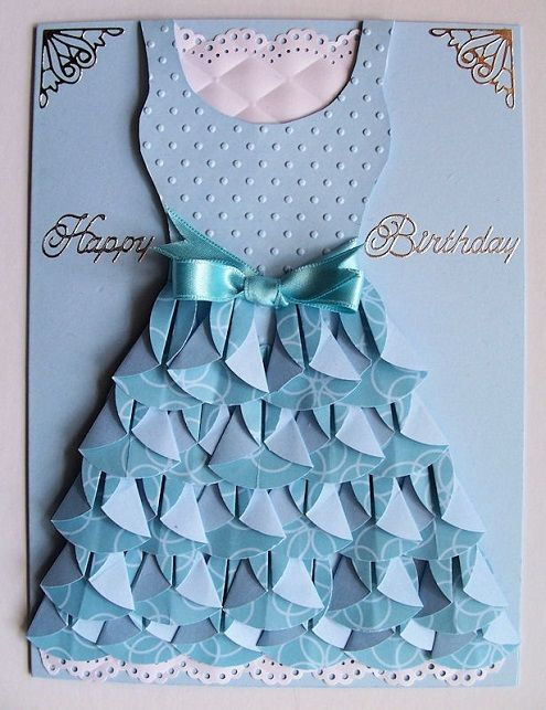 Attractive Greeting Card Making Ideas At Home Part - 11: Home Crafted Diy Birthday Card Ideas For Daughters