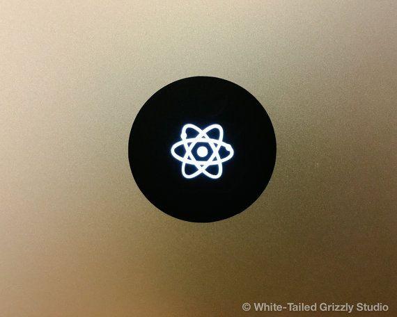 Atom Macbook Decal Macbook Apple Decal Macbook Apple Light Cover