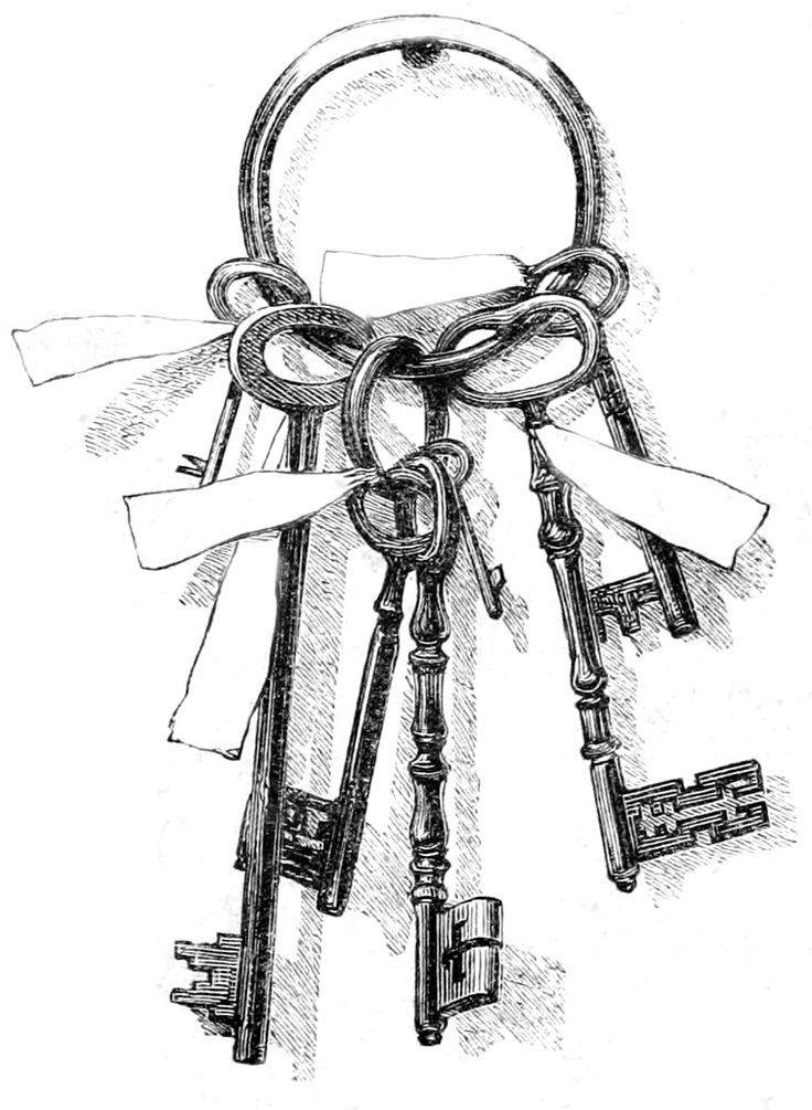 """Keys to Better Living"" - Keys clip articles #SkeletonKey #AdultCP"