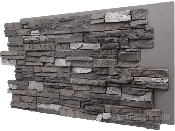 Regency Stacked Stone Iced Coffee Panel