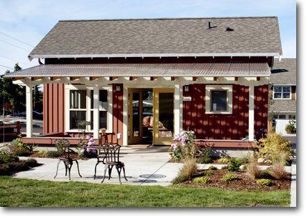 Backyard guest home plans house design plans for Backyard guest cottage plans