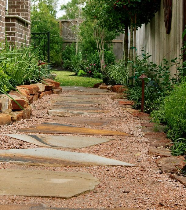 Side And Backyard Idea: Garden: Path & Side Yard