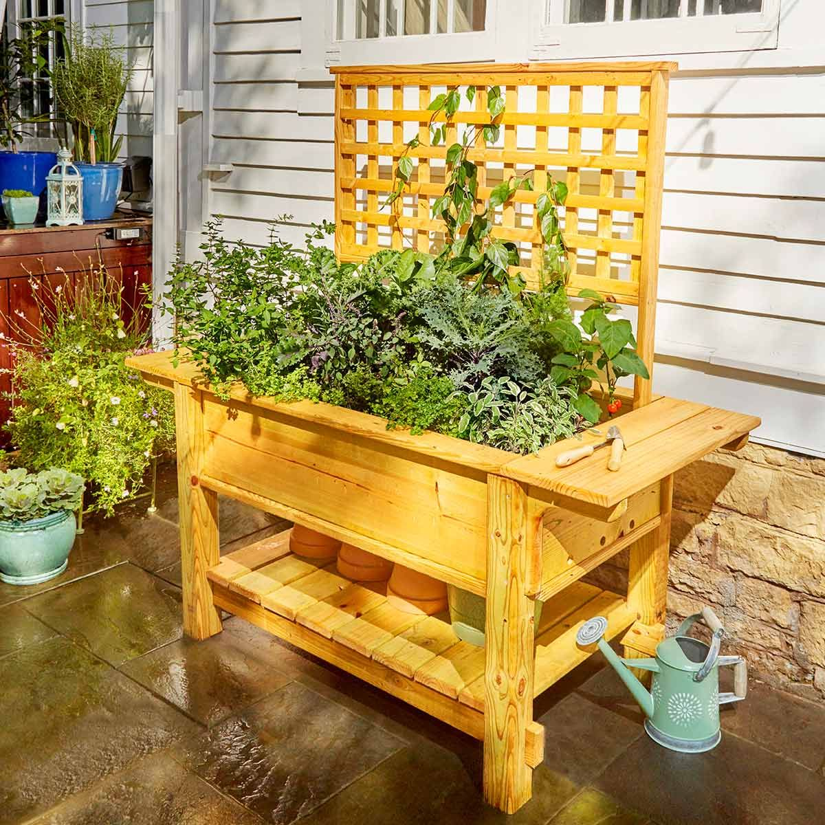 40 outdoor woodworking projects for beginners | diy wood