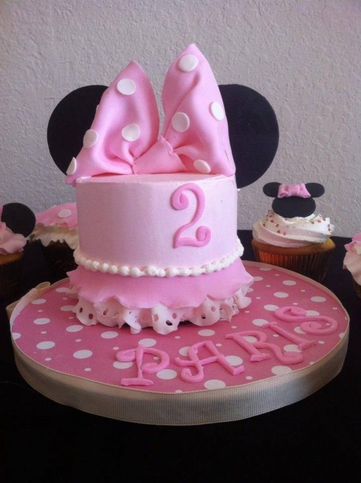 MiniMinnie Birthday Cake in Orlando FL Happy Birthday Paris Minnie