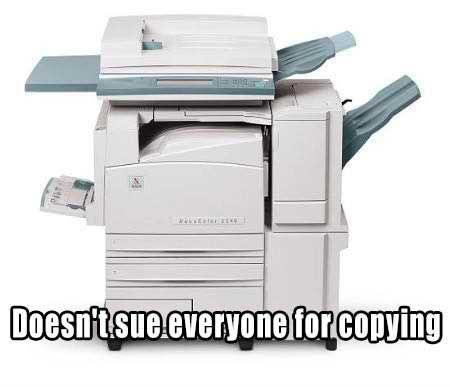 Good Guy Xerox Machine!