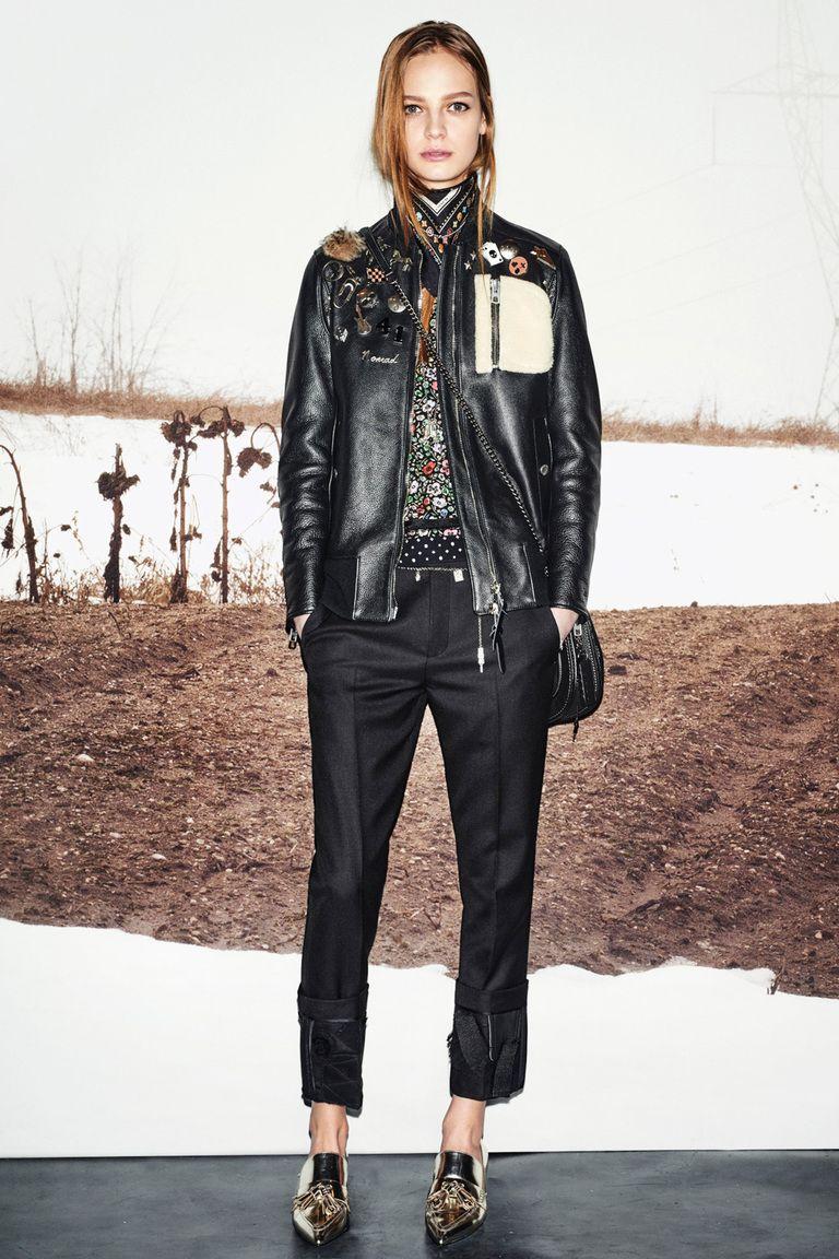 модели кожаных курток 2016 фото