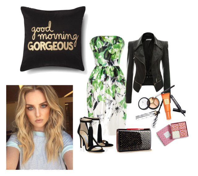 """GOOD MORNING GORGEOUS"" by skylehenni ❤ liked on Polyvore featuring Prabal Gurung, Christian Louboutin, Borghese, Vera Bradley and Xhilaration"