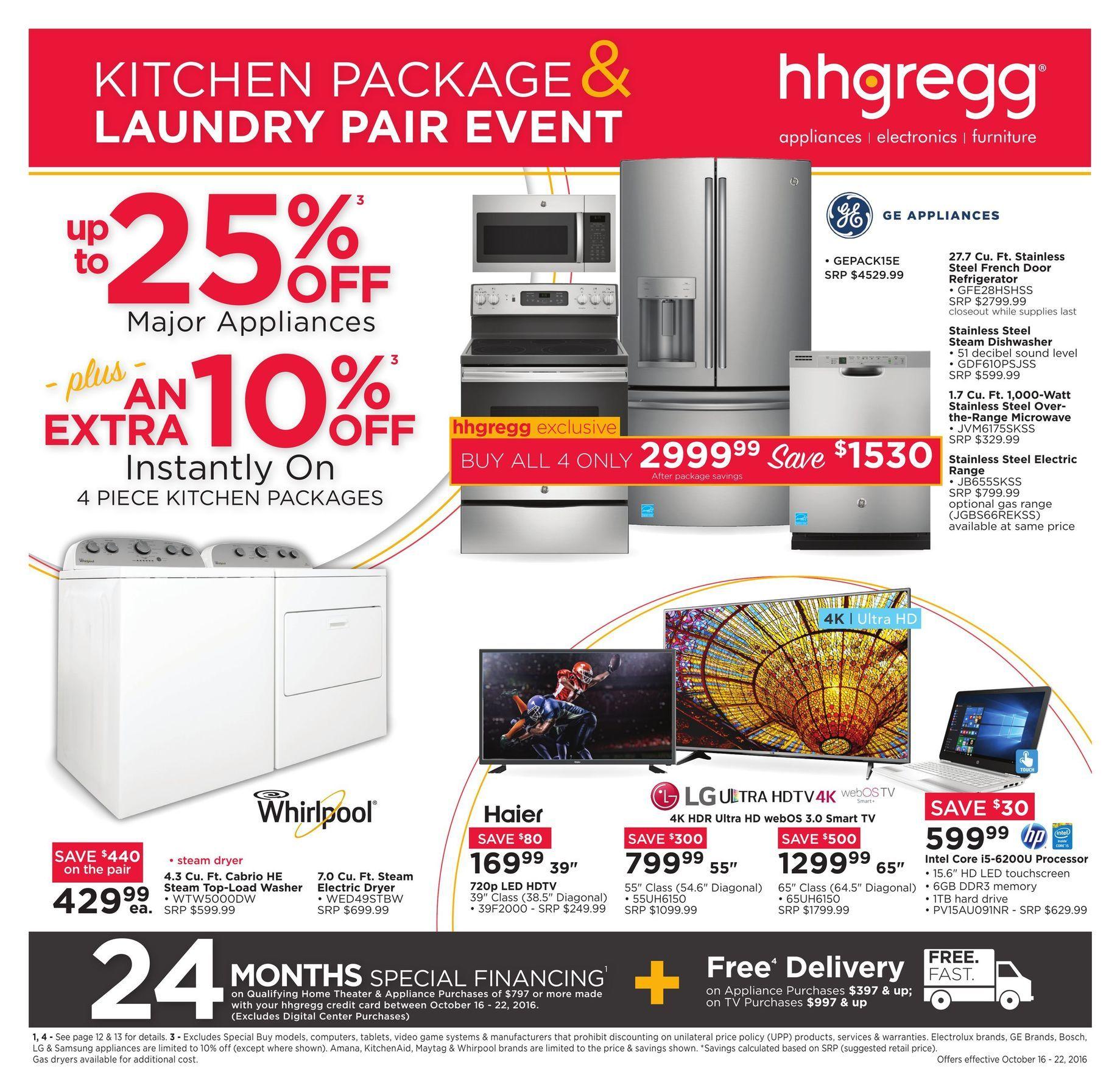 hhgregg Weekly Ad Appliances - http://www.istoreads.com/hhgregg ...
