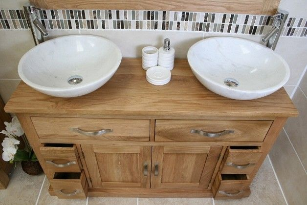 Bathroom Vanity Units Double Sink Unit Surface Matters Going For Oak Or Stone