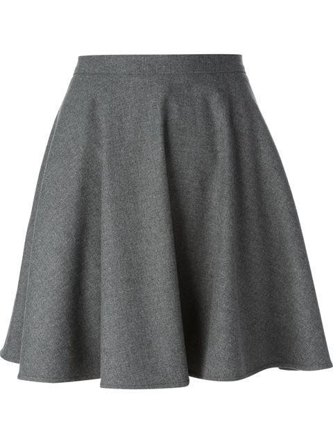 df6595d81390e Red Valentino Pleated Skirt - Loschi - Farfetch.com