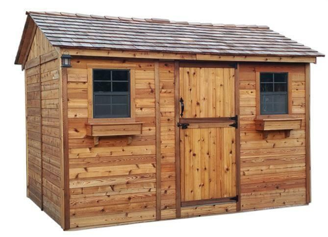 Outdoor Living Today - 12 x 8 Cabana Shed with Dutch Door ... on Outdoor Living Today Cabana id=63530