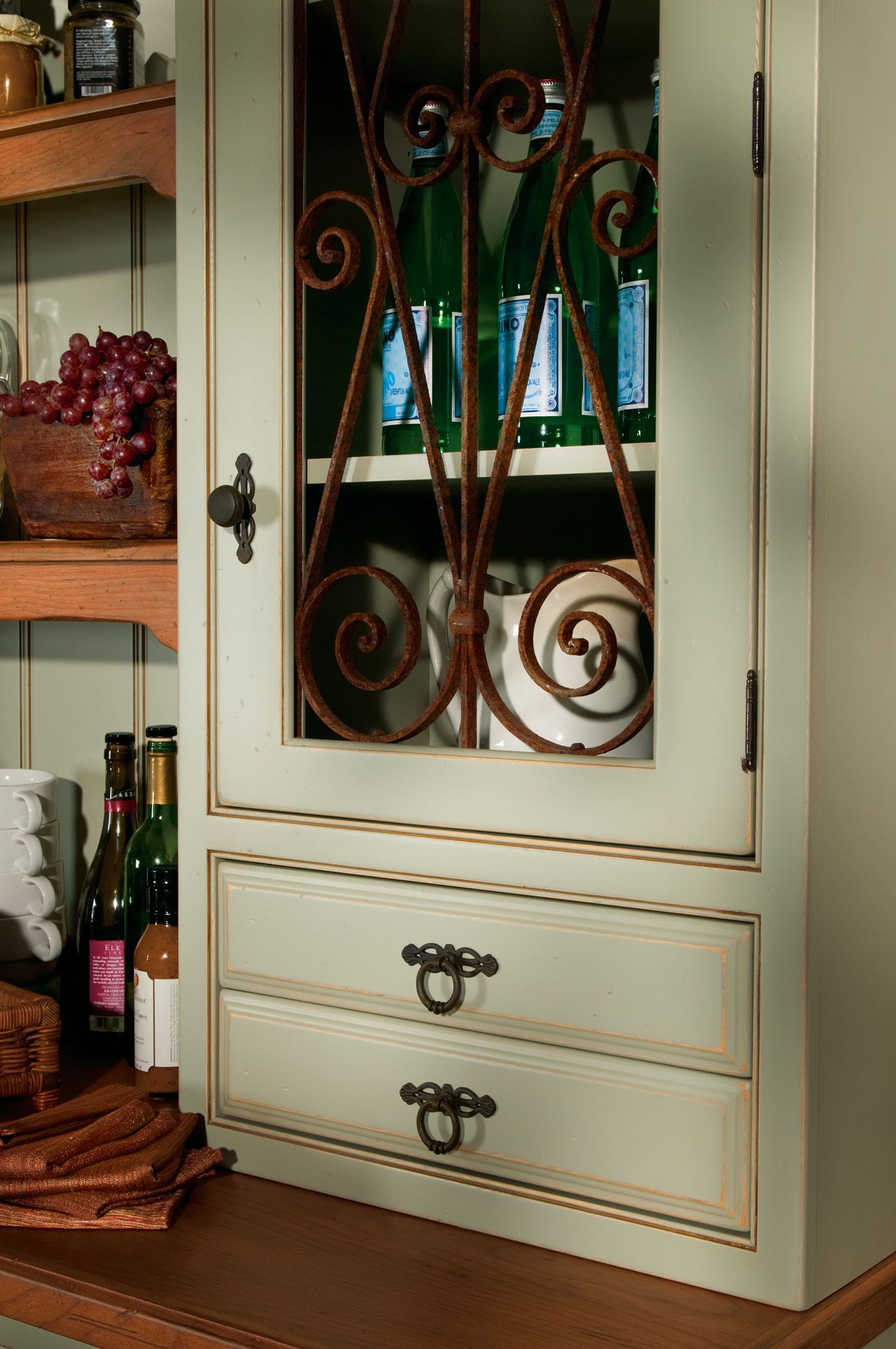 contemporary inserts out drawer picture kitchen cabinet door drawers concept cliqstudios impressive pull rockford
