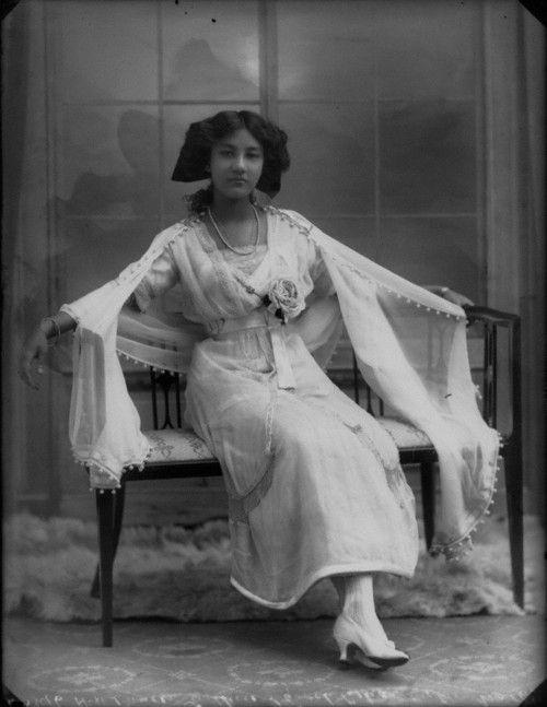 Princess Sadhira of Cooch Behar (1910)